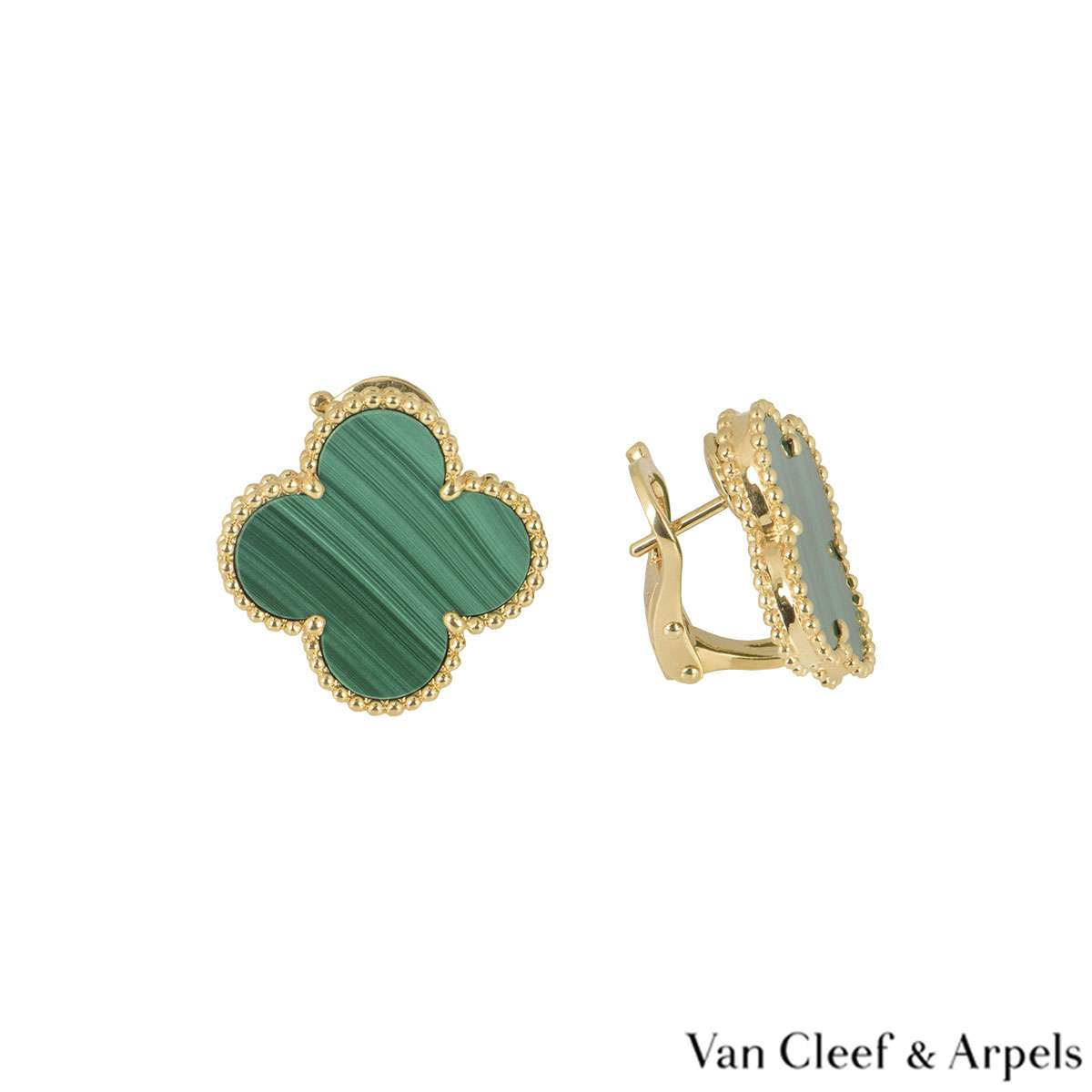 Van Cleef & Arpels Yellow Gold Magic Alhambra Earrings VCARO3MH00